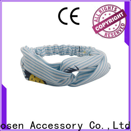 Duosen Accessory different organic cotton headband factory for party