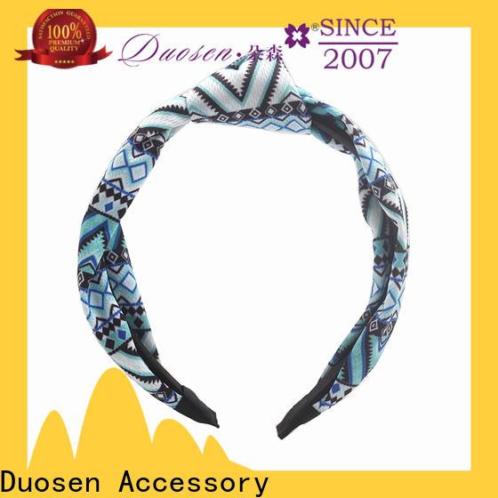 Custom cloth headbands headband Suppliers for prom