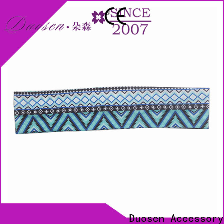 Duosen Accessory band fabric elastic headbands manufacturers for prom