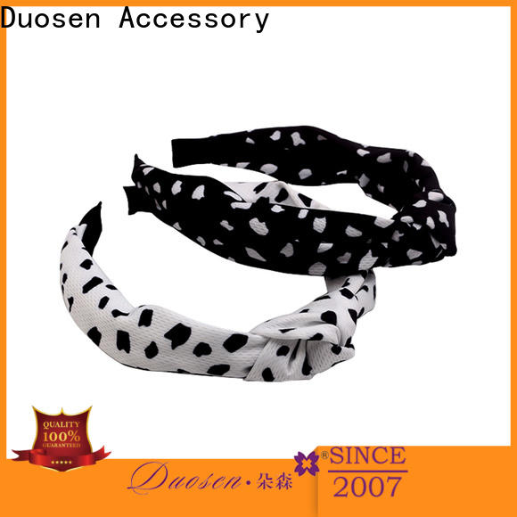 Duosen Accessory Top eco-friendly headband Suppliers for party