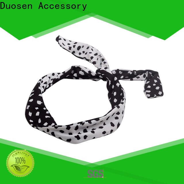Duosen Accessory hairband fabric alice band Suppliers for prom