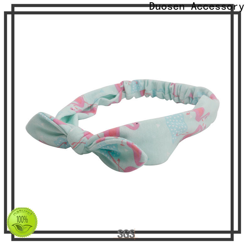 Duosen Accessory Best organic cotton headband Suppliers for party