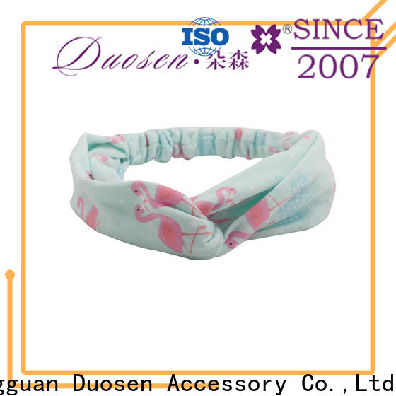 Top fabric hair bands different manufacturers for sports