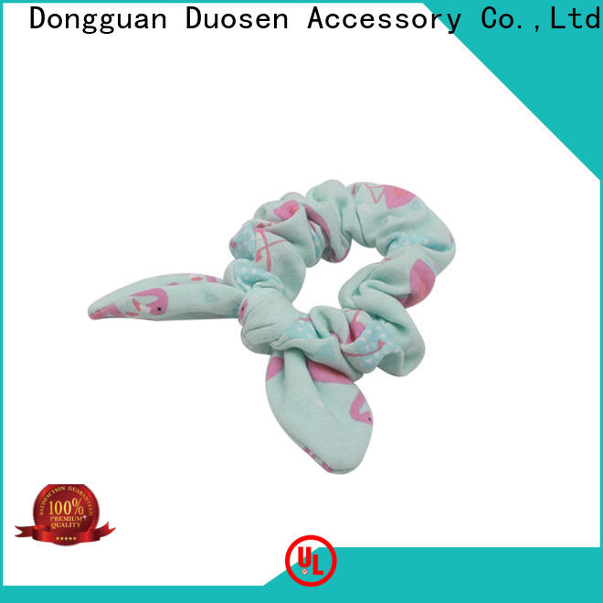 Duosen Accessory High-quality fabric hair tie for business for daily life