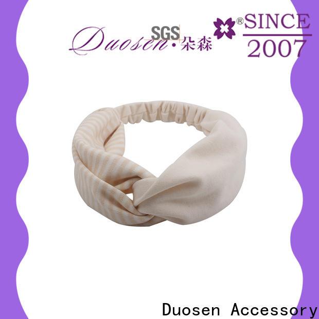 Duosen Accessory unique fabric headband Supply for sports