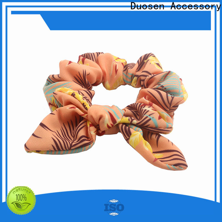 Top scrunchie hair ties pattern company for women