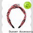 Top organic fabric hairband hairband Suppliers for dancer