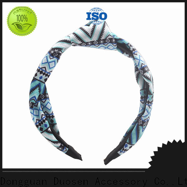 Duosen Accessory High-quality cloth headbands factory for party