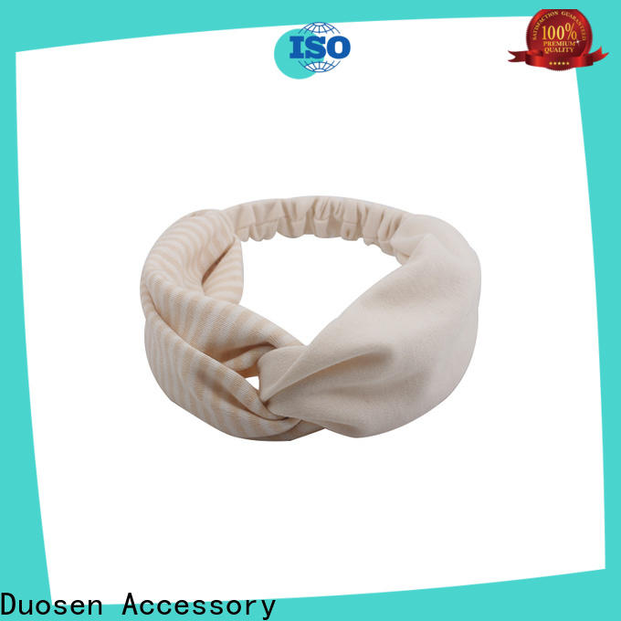 Duosen Accessory different girls fabric headbands for business for prom
