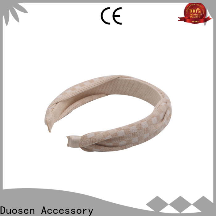 Duosen Accessory spot cloth headbands manufacturers for daily Life