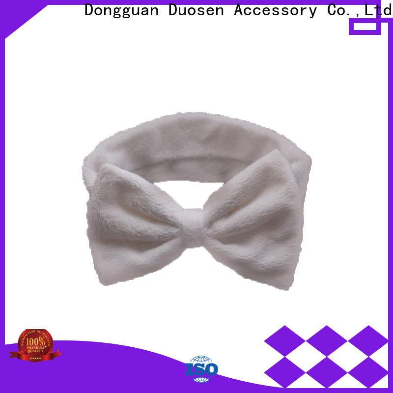 Duosen Accessory High-quality fabric hair bands for business for prom