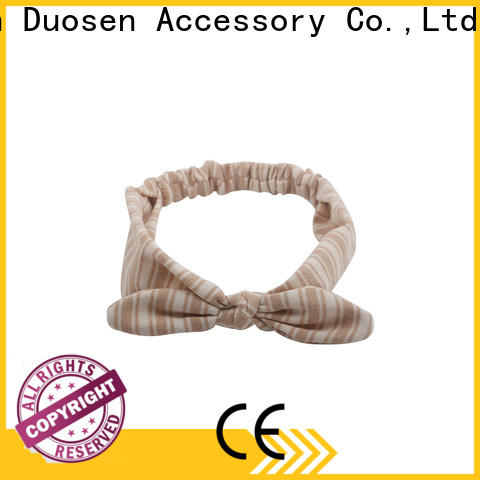 Duosen Accessory stripe eco-friendly headband for business for dancer