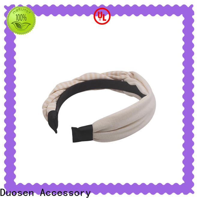 Wholesale fabric tie headbands light for business for dancer