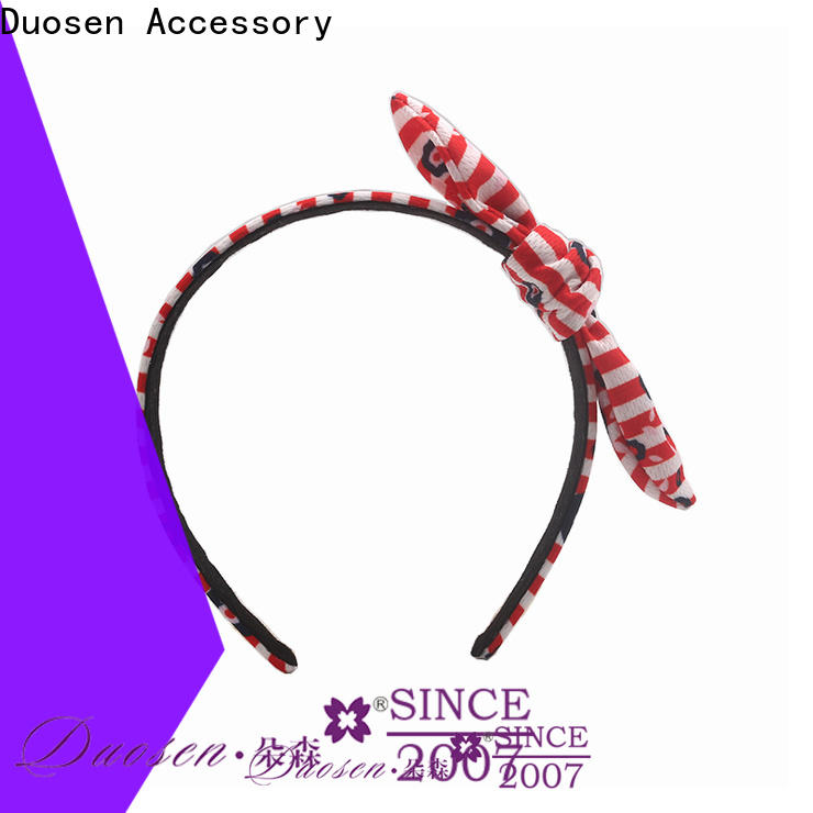 Duosen Accessory bright fabric headbands wholesale Suppliers for sports