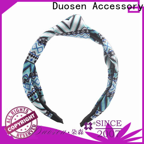 Latest cloth hairband soft Supply for party