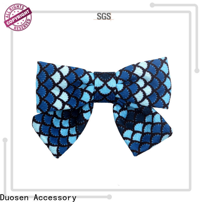 Duosen Accessory Wholesale fabric hair bow tutorial Supply for women