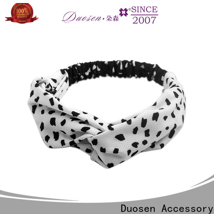 Latest fabric elastic headbands special manufacturers for running