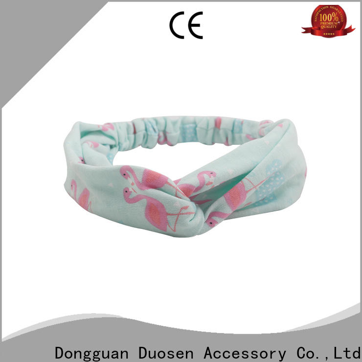 Duosen Accessory multifunctional organic fabric hairband Suppliers for sports