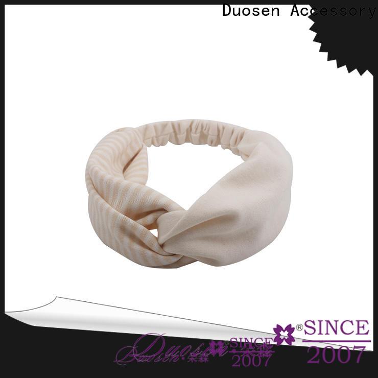 Duosen Accessory hawaii fabric headbands wholesale factory for dancer