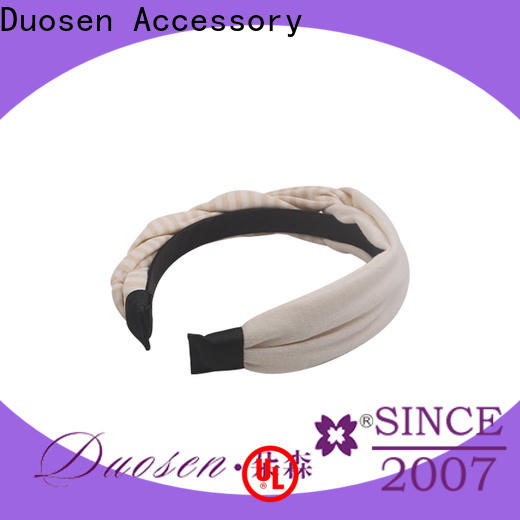 High-quality organic fabric headband special manufacturers for prom