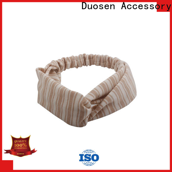 Duosen Accessory changeable fabric headbands wholesale company for party