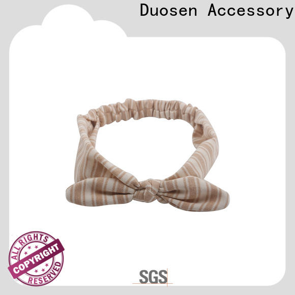 Duosen Accessory soft womens fabric headbands Supply for prom