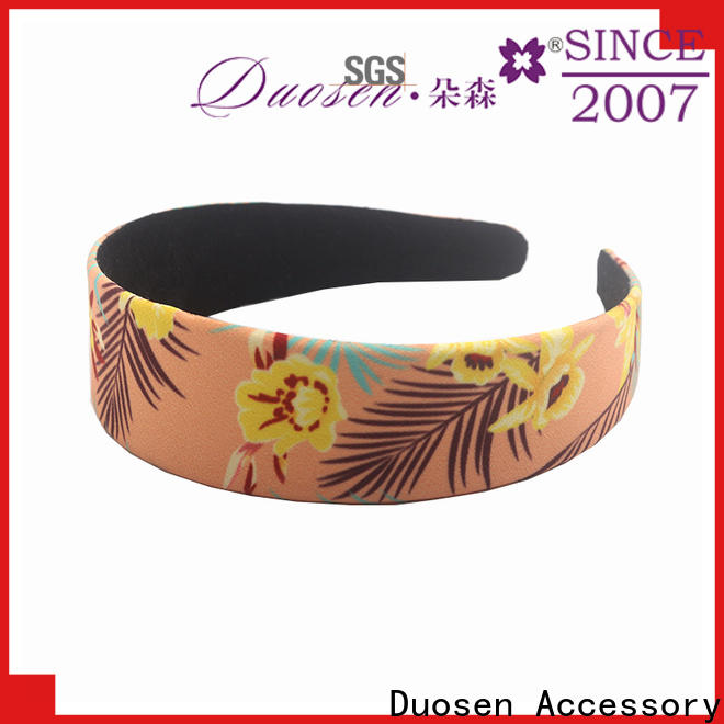 Duosen Accessory knots fabric alice band Suppliers for party