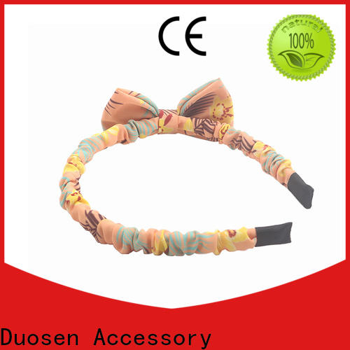 Duosen Accessory hair turban headband for business for dancer