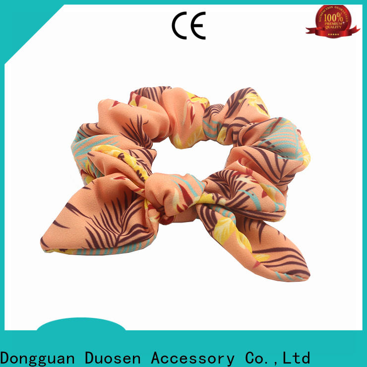 Duosen Accessory Wholesale scrunchie hair ties company for daily life