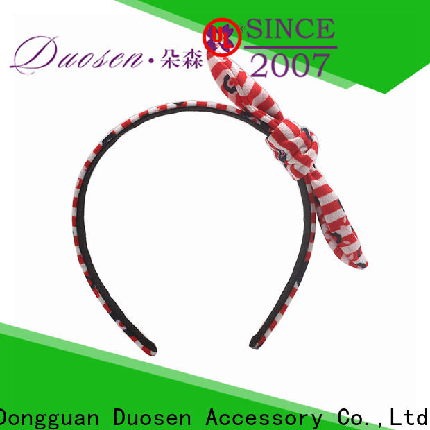 Duosen Accessory organic organic cotton headband Supply for sports