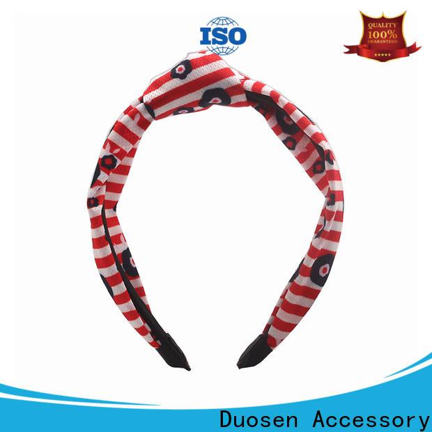Duosen Accessory Wholesale organic fabric headband Suppliers for running