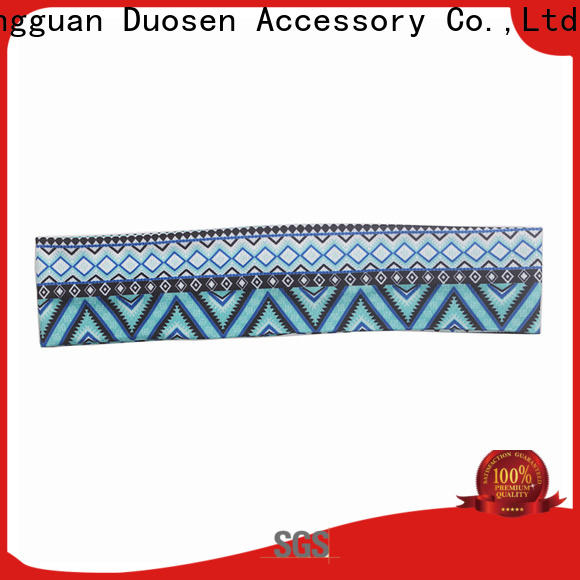 Duosen Accessory New cloth hairband factory for daily Life