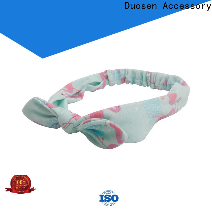 Custom cotton turban headband fabric for business for party