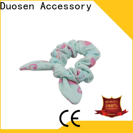 Duosen Accessory Best scrunchie hair ties for business for women
