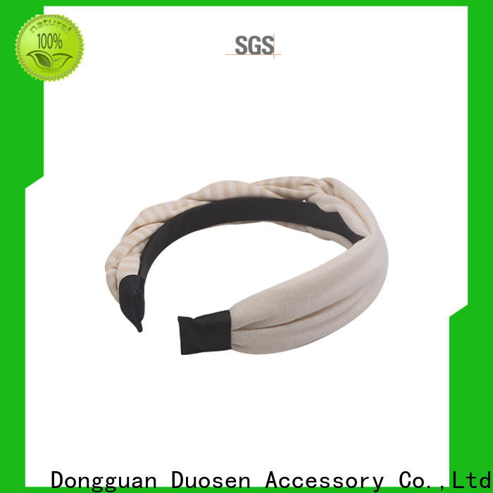 Duosen Accessory Latest fabric elastic headbands Supply for running