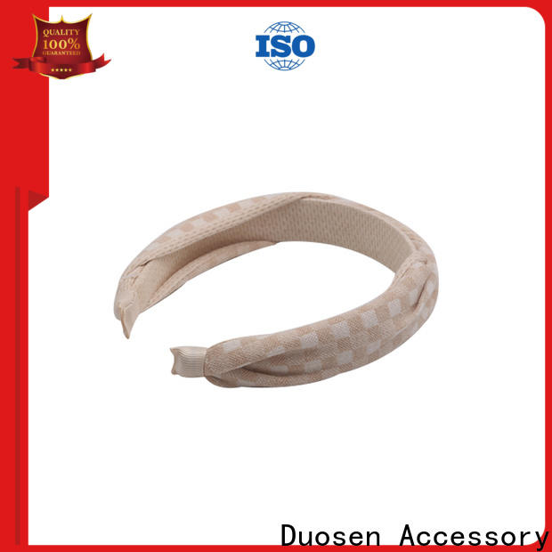 Duosen Accessory High-quality cotton turban headband company for running