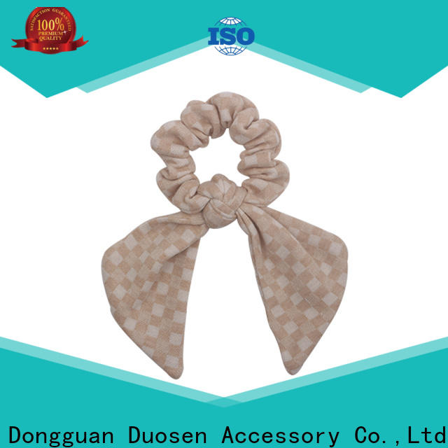 Best bow hair scrunchie woman company for girls