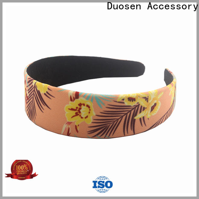 Duosen Accessory band fabric hair bands Suppliers for dancer