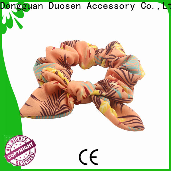 New scrunchie hair ties color manufacturers for girls