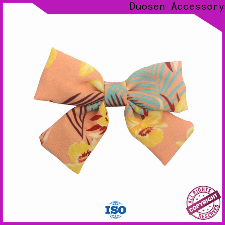 Duosen Accessory clip plain hair barrettes Supply for women