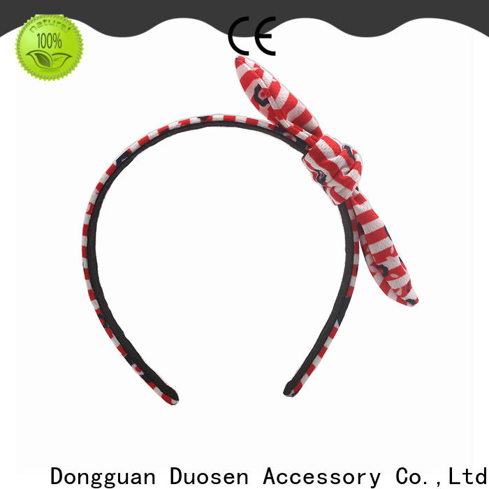 Duosen Accessory Latest fabric headband manufacturers for party