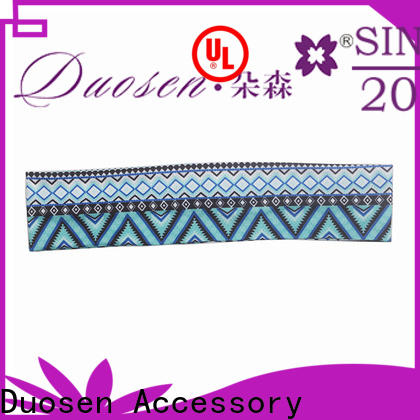 Duosen Accessory High-quality fabric tie headbands manufacturers for party