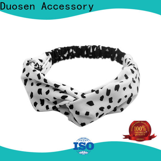Duosen Accessory organic organic fabric headband for business for party