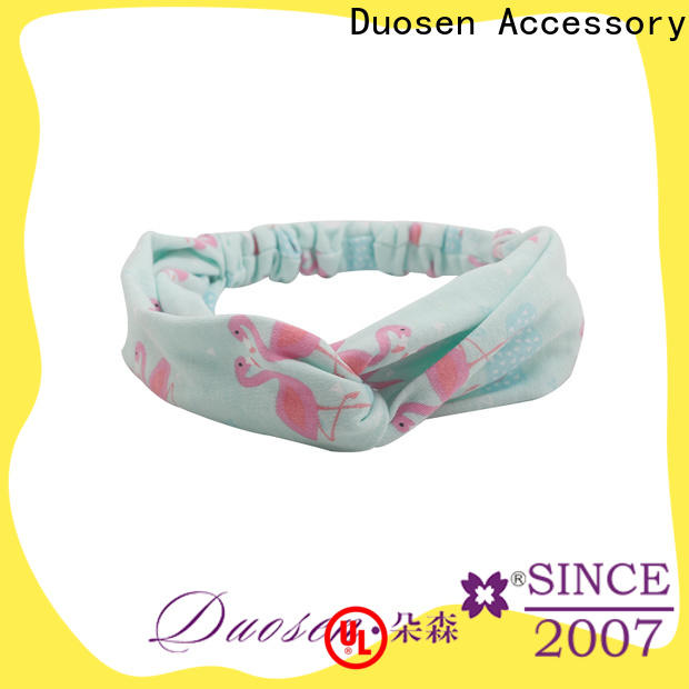 Duosen Accessory Top turban headband manufacturers for sports