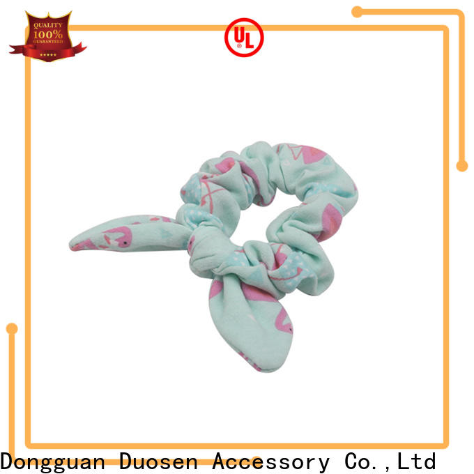 High-quality bow hair scrunchie scrunch manufacturers for women