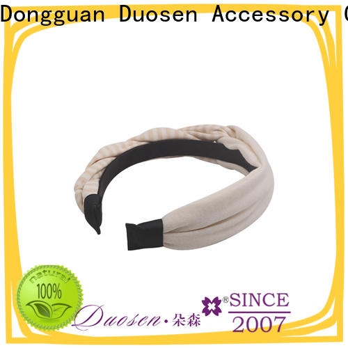 Duosen Accessory multifunctional cloth hairband manufacturers for dancer