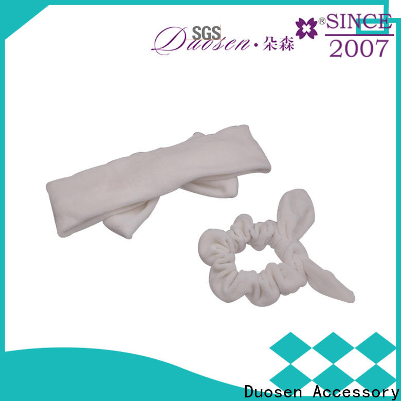 Duosen Accessory wave cloth hairband for business for party