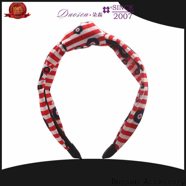 Duosen Accessory milk womens fabric headbands for business for party