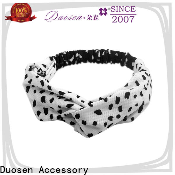 New fabric knot headband fabric Supply for daily Life
