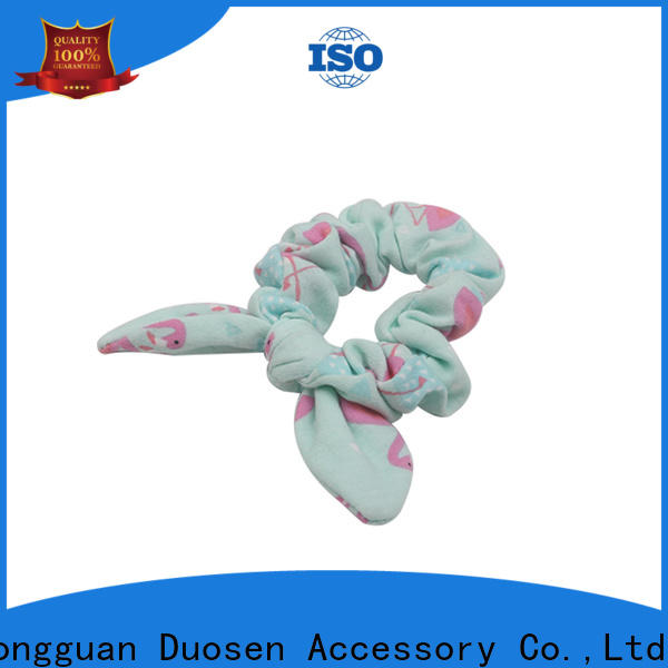 Duosen Accessory hair bow hair scrunchie for business for women